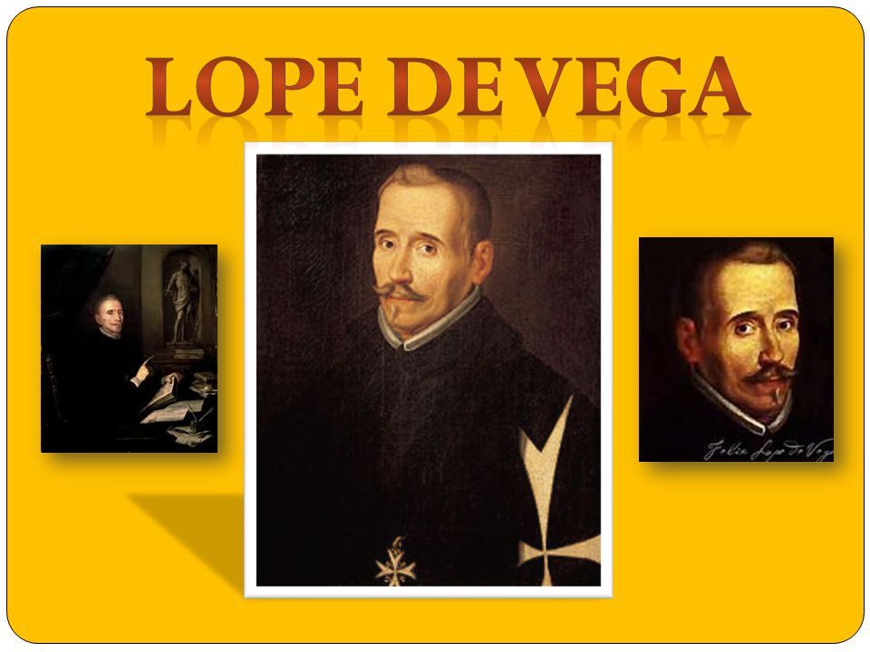 Lope de Vega was born on November the 25th of 1562, and died on August the 27th of 1635.