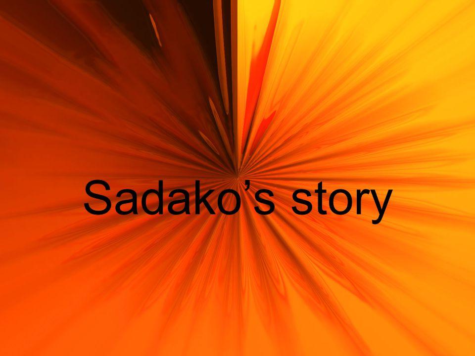 Sadako's story