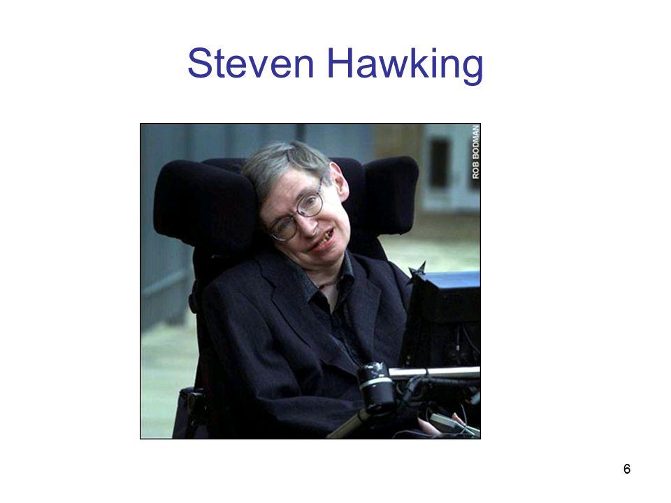6 Steven Hawking