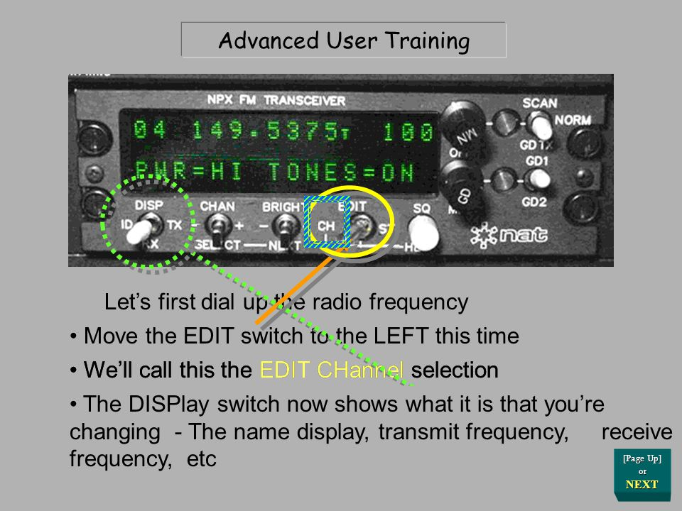 Press Here for Answer Final Practical Review You're not transmitting CTCSS tone on your radio; Check and correct this no-tone-xmit condition Your ground team calls and urgently tells you they can only hear you when they use their Monitor button Why.