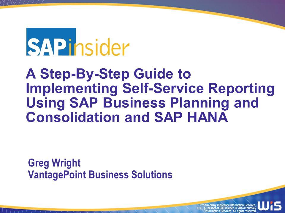 11 What We'll Cover In this Session Digital Universe Self-Service Reporting SAP BPC SAP BI SAP HANA Wrap-up