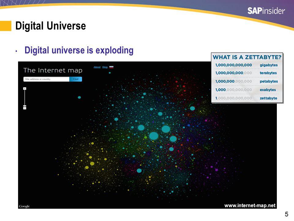 16 What We'll Cover In this Session Digital Universe Self Service Reporting SAP BPC SAP BI SAP HANA Wrap-up