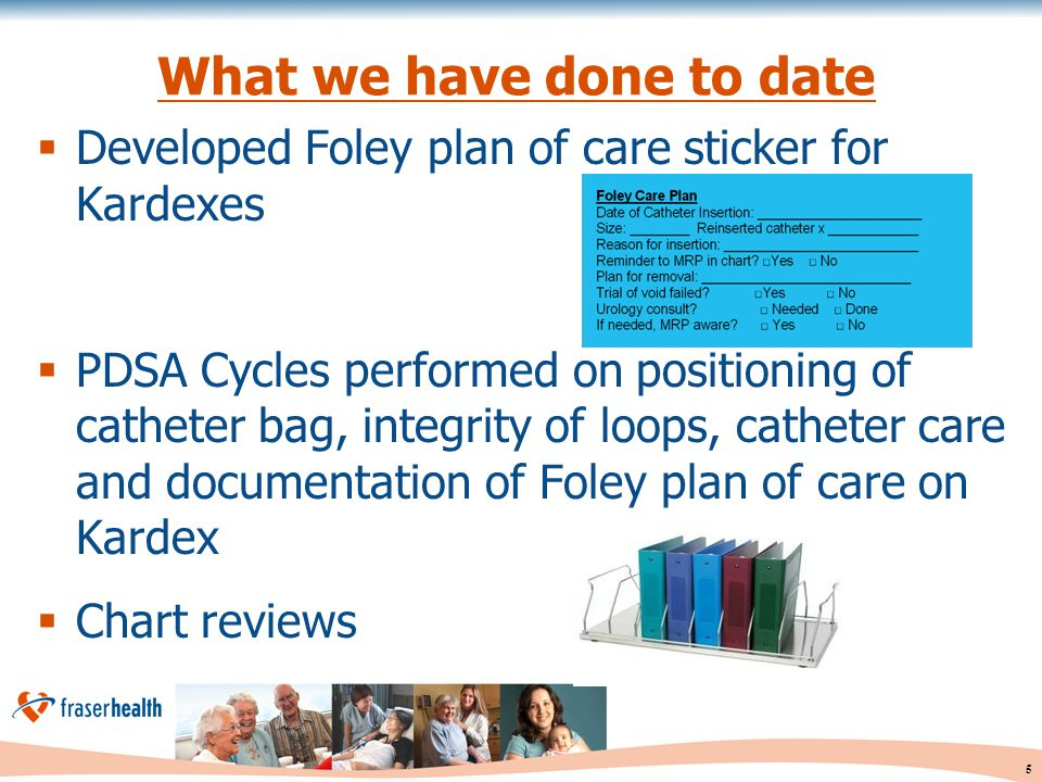 6 What we have done to date con't  Pioneered use of physician reminder sticker  Staff huddles and contests  Posters, factoids and spot checks  Patient education