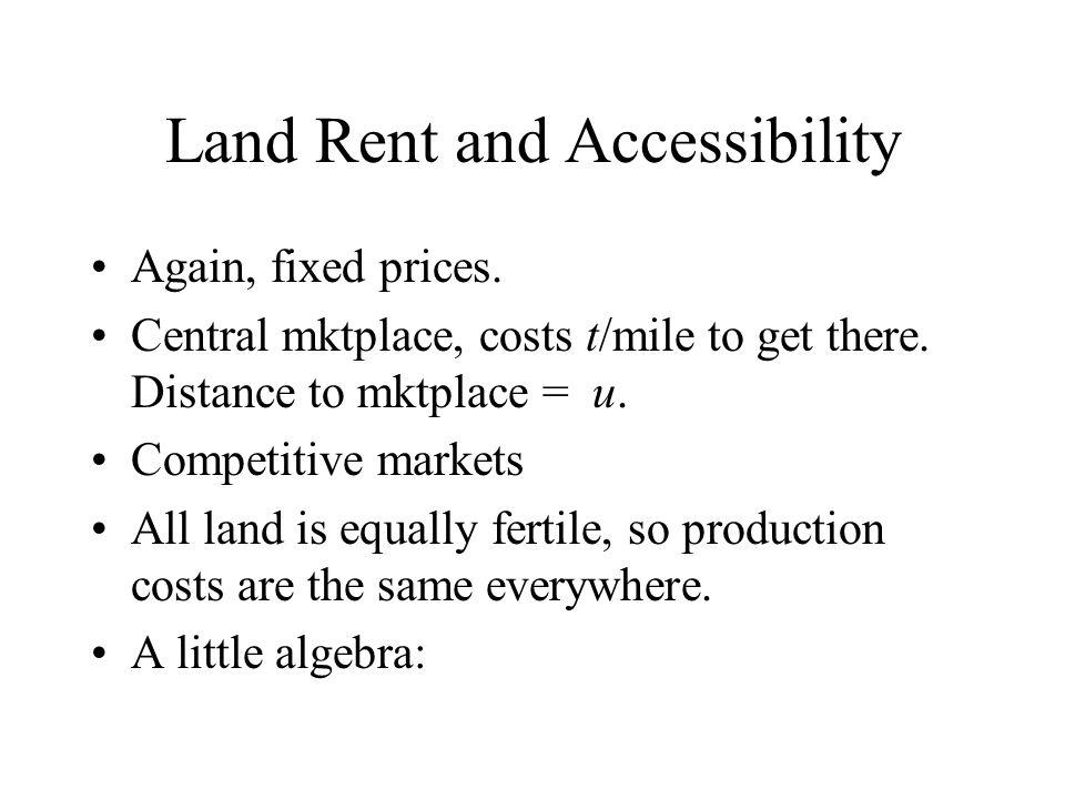 Fig. 7.2 - Fertility and Land Rent MC AC Corn Mkt.High Fert.Med.