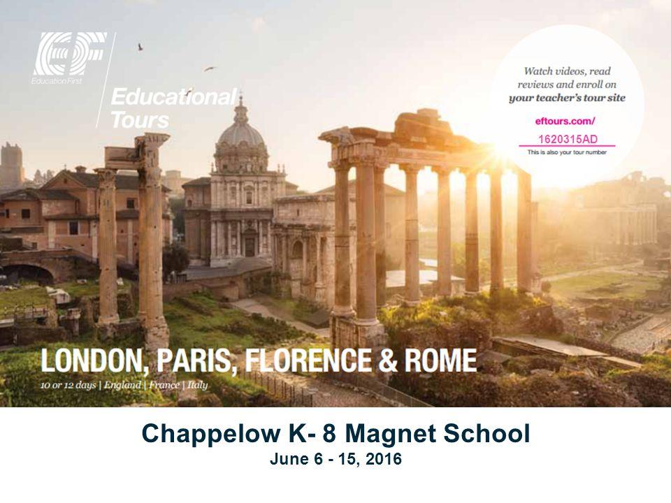 1620315AD Chappelow K- 8 Magnet School June 6 - 15, 2016