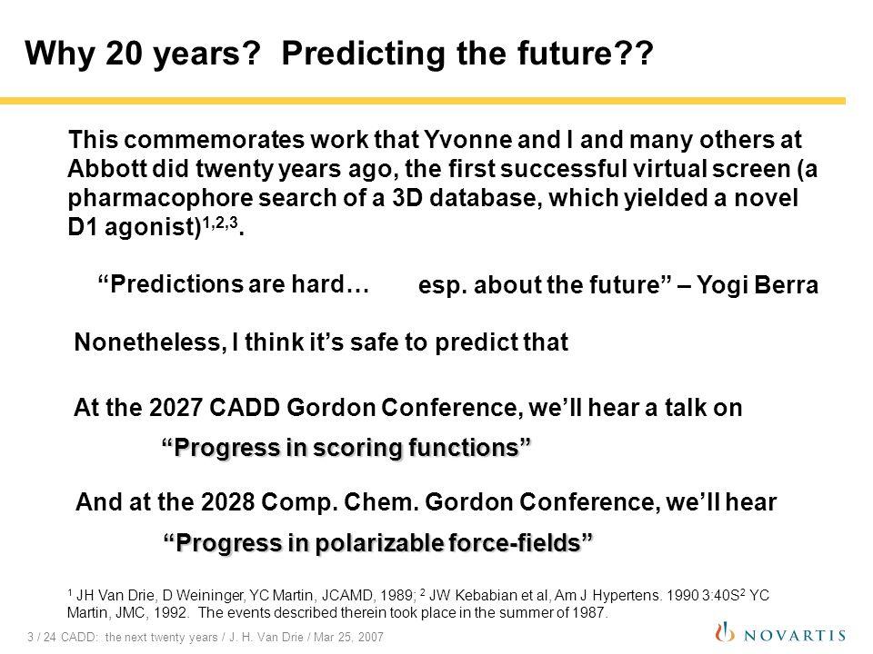 14 / 24 CADD: the next twenty years / J.H.