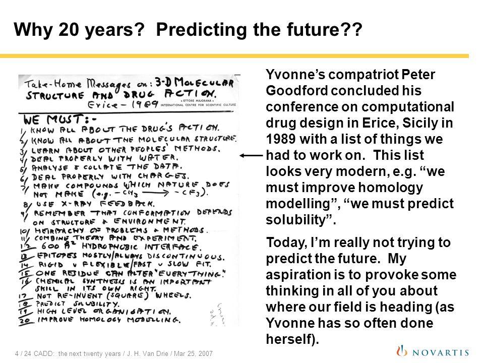 15 / 24 CADD: the next twenty years / J.H.