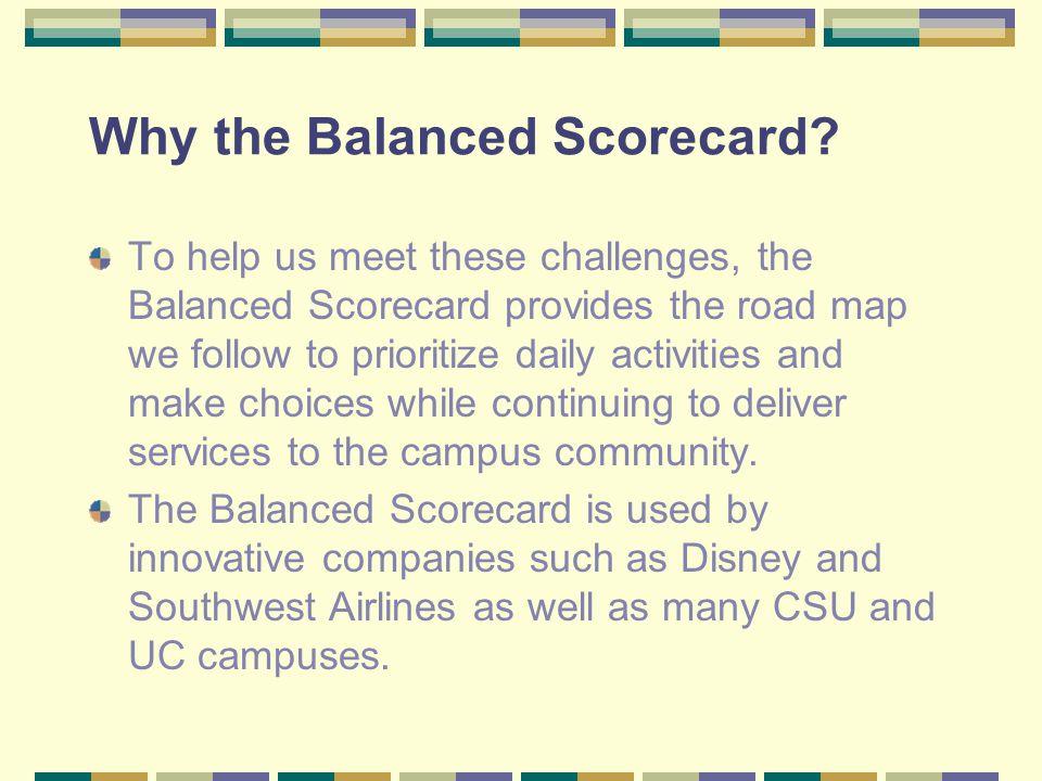 Who's working on the Balanced Scorecard.