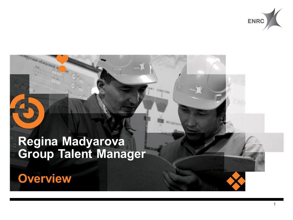 Regina Madyarova Group Talent Manager Overview 1