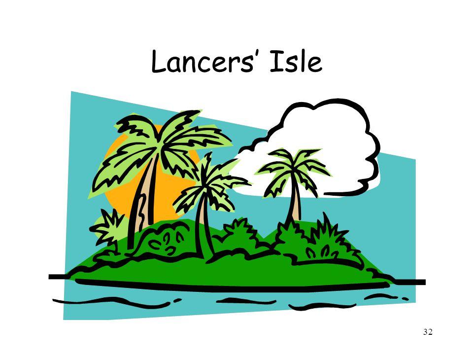 32 Lancers' Isle