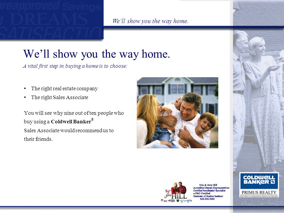 Helping you find the right home… in the right location, at the right price.
