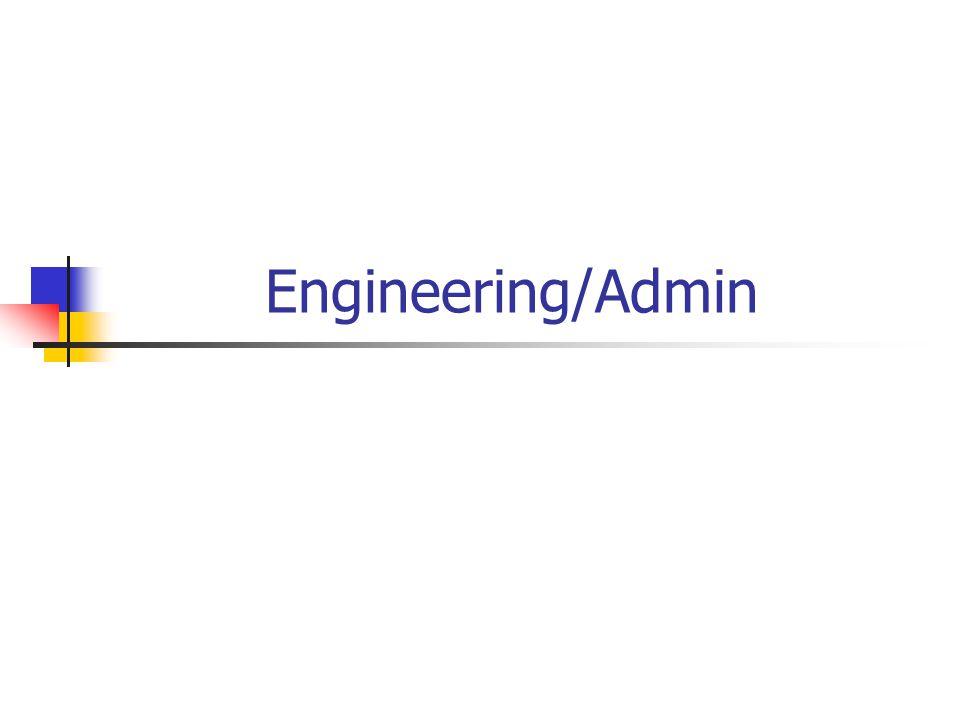 Engineering/Admin