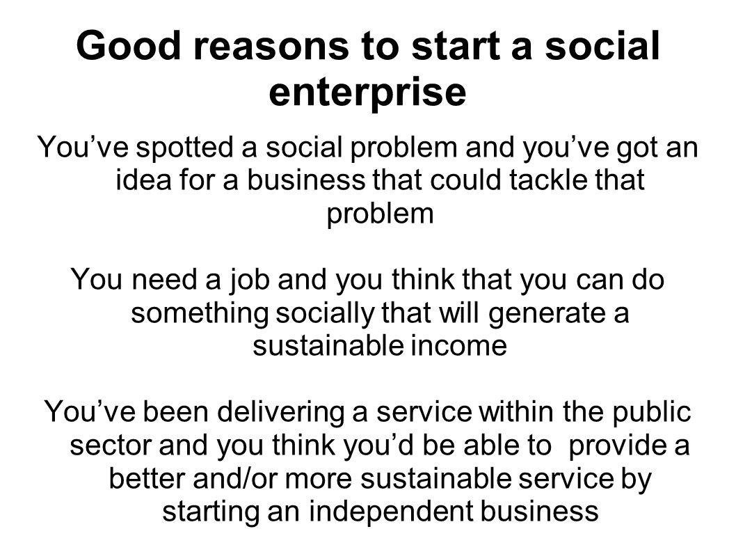 Am I glad I work in social enterprise.