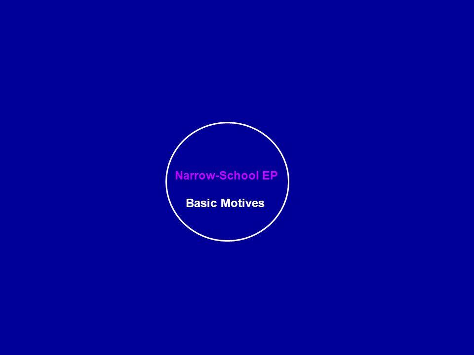 Narrow-School EP Basic Motives