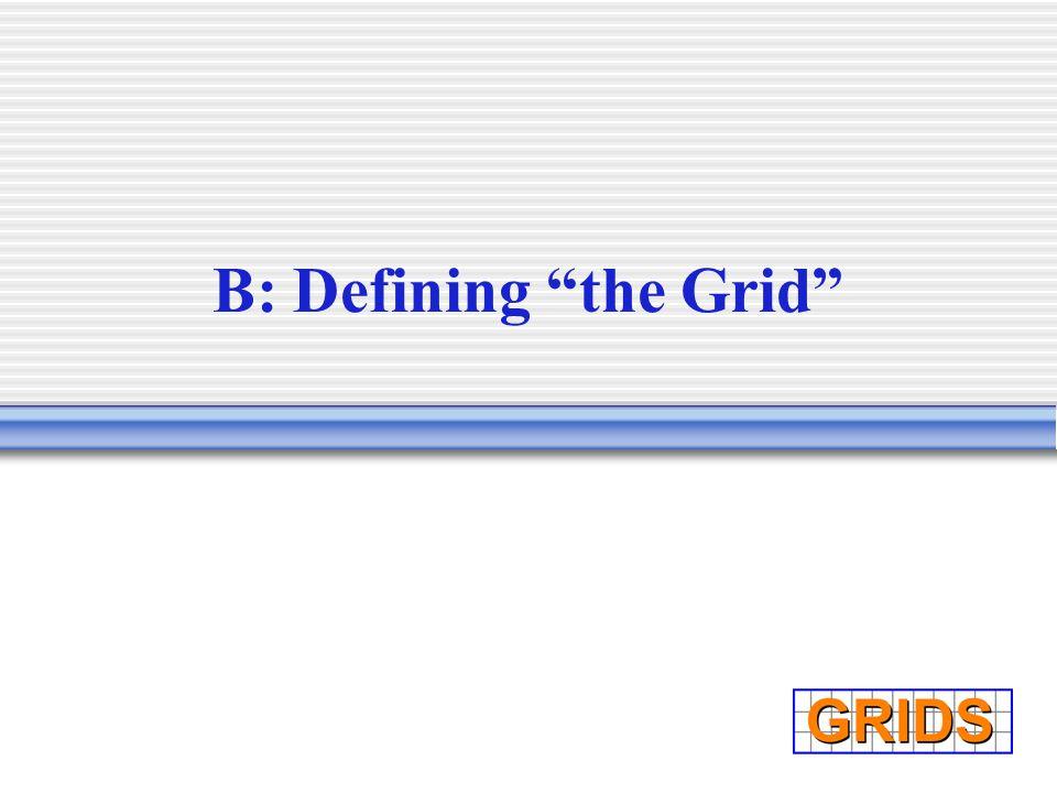 B: Defining the Grid