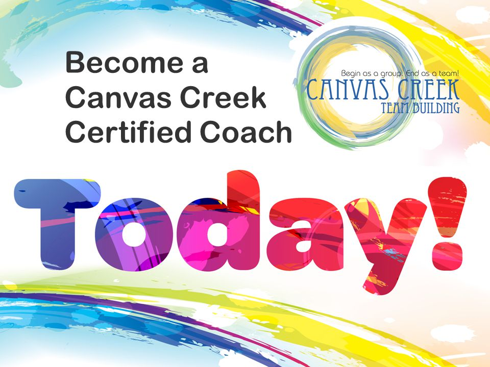 Become a Canvas Creek Certified Coach