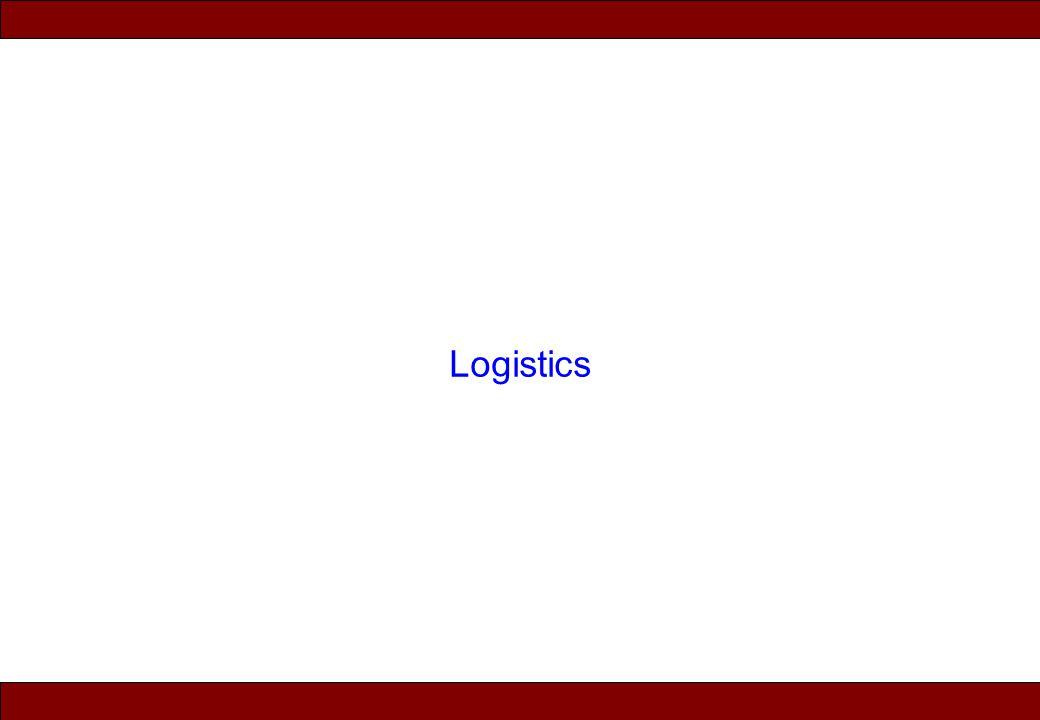 © 2010 Noah Mendelsohn Logistics