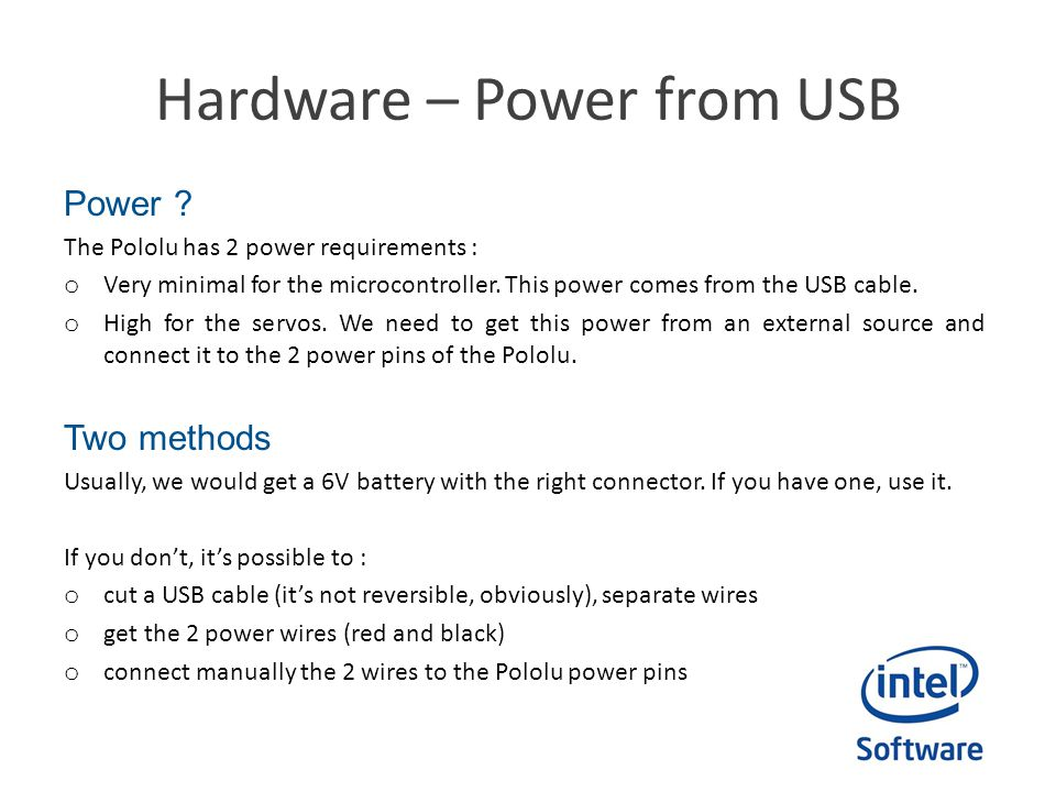 Conclusion Edison being a PC, you can expect to find a lot of great USB solutions to all your problems.