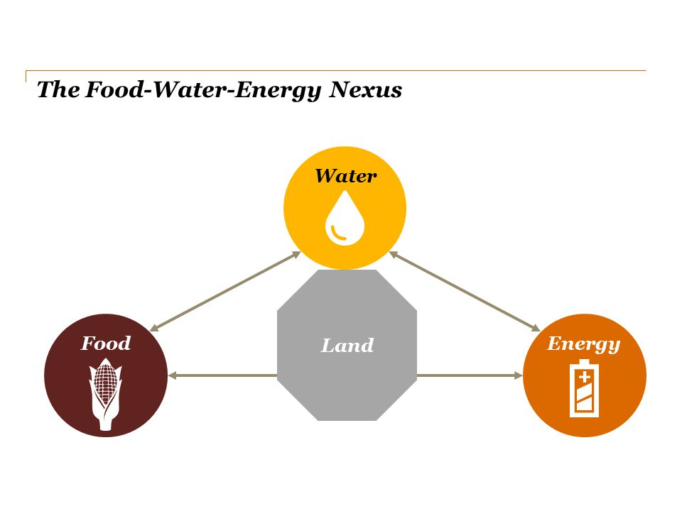 The Food-Water-Energy Nexus FoodEnergy Water Land