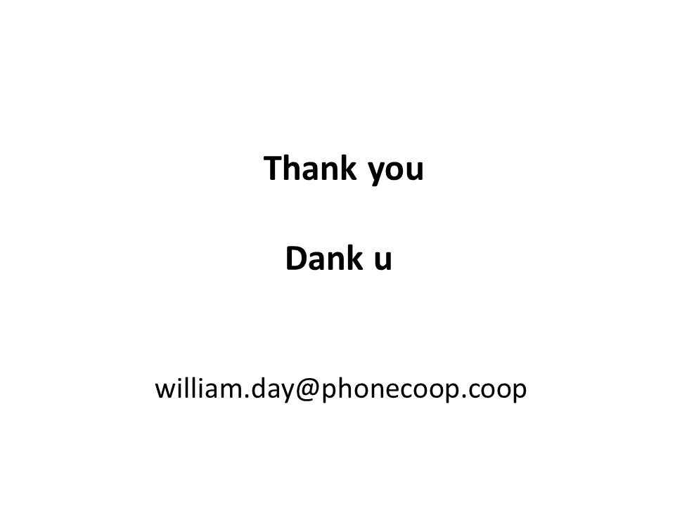 Thank you Dank u william.day@phonecoop.coop