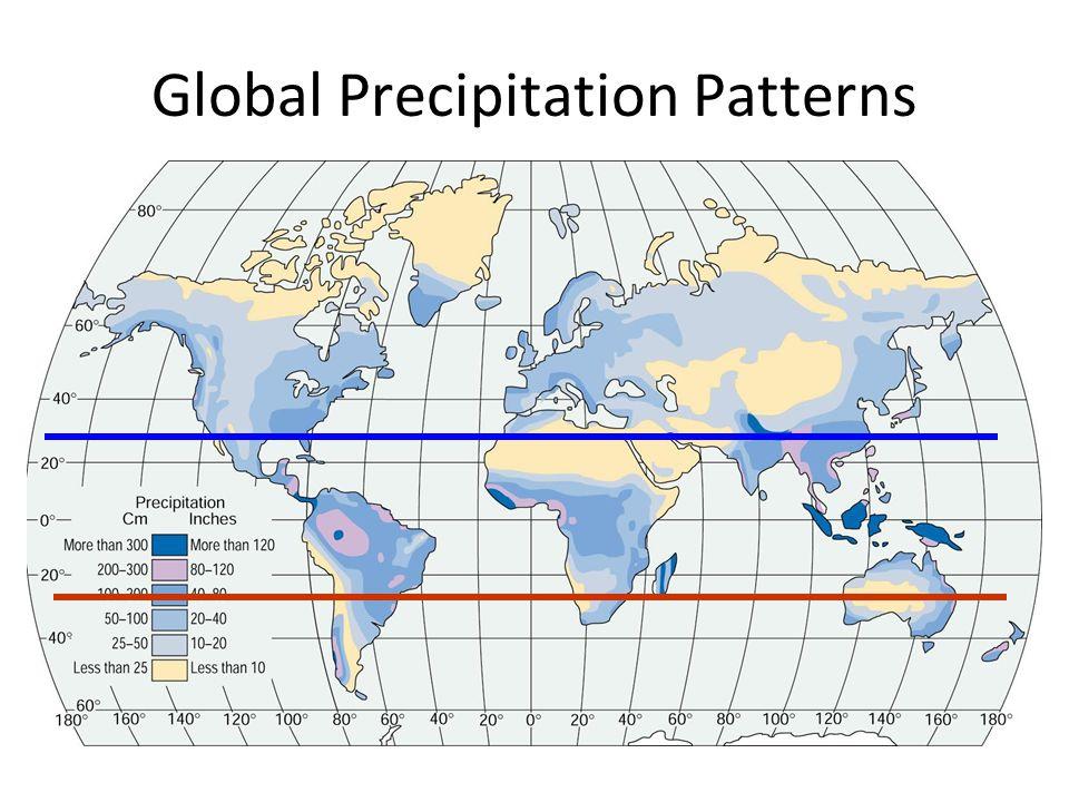Global Precipitation Patterns