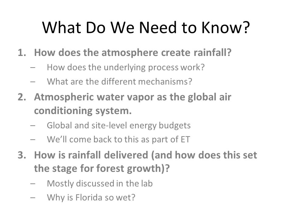 Is Average Rainfall Meaningful.Yes – but only to a point.