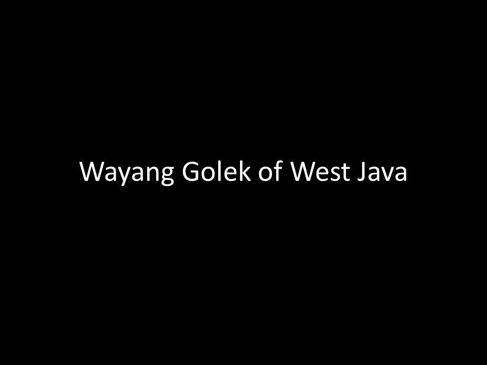Wayang Golek of West Java