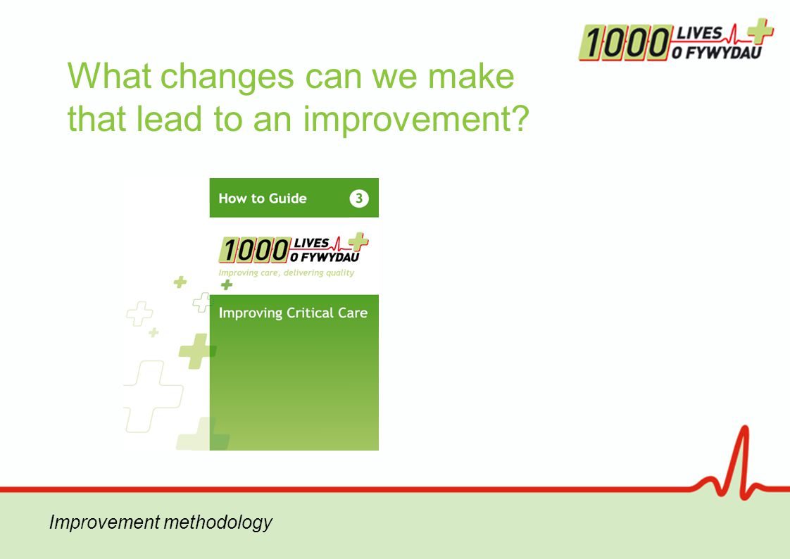 What changes can we make that lead to an improvement Improvement methodology