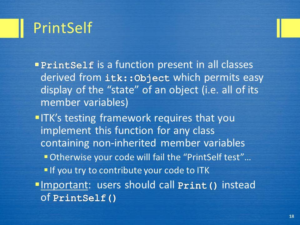 PrintSelf 18