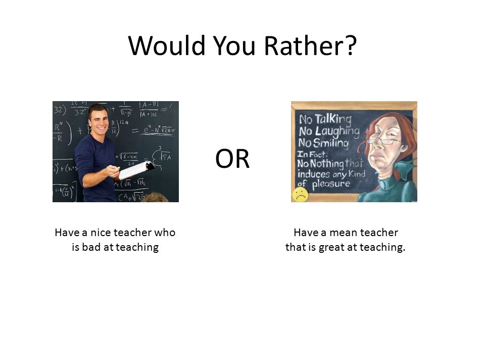 Would You Rather? Time travel 200 years into the past Time travel 200 years into the future OR
