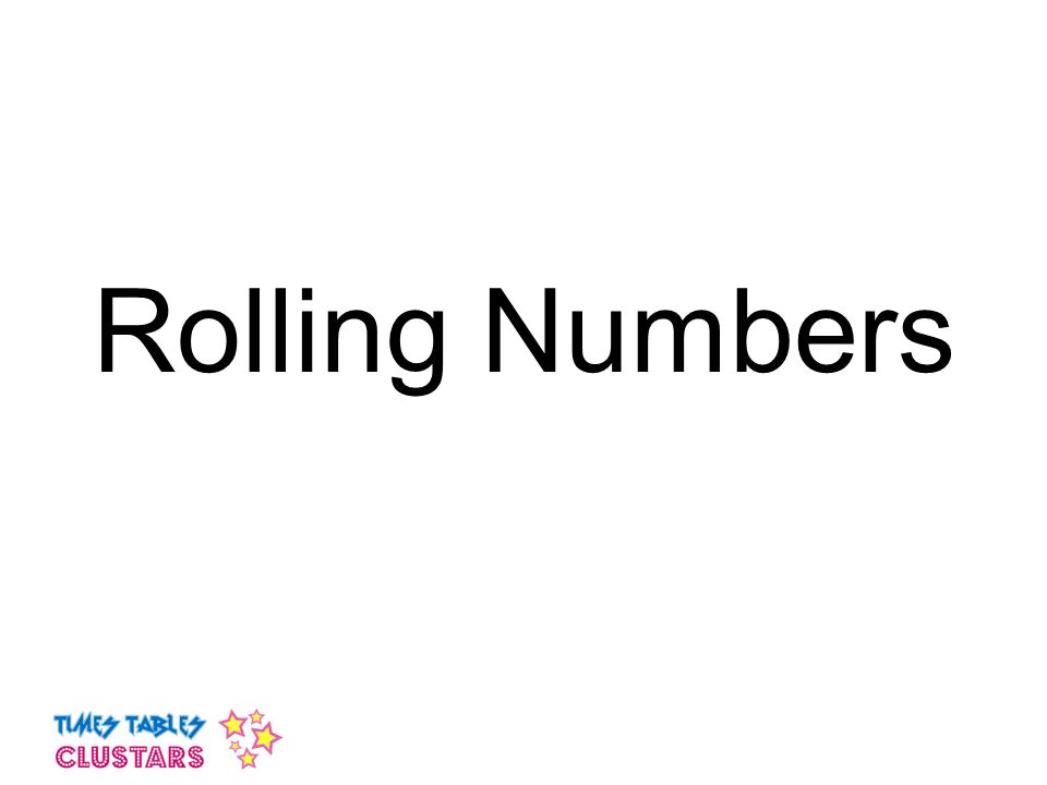 Rolling Numbers