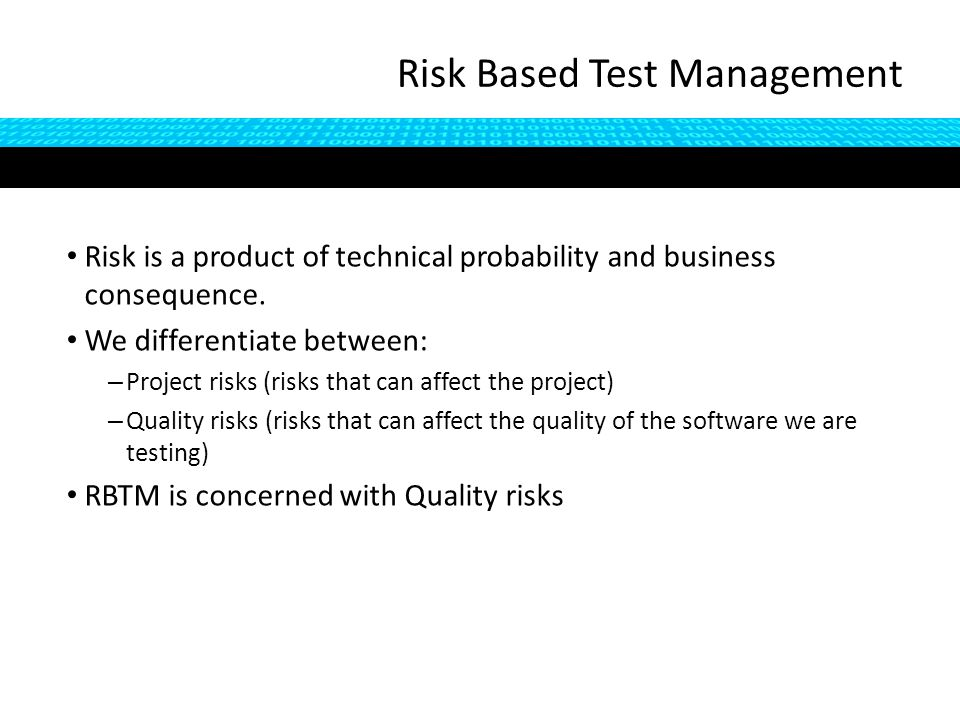 Traditional approaches to testing involve writing step by step scripts in advance of test execution Benefits that are often cited for doing so include: – Preparing tests in advance make testing easier to manage – Scripts ensure that tests can be repeated precisely every time they are executed – Less experienced testers can learn the software – Less experienced testers can still be productive, so tests can be given to cheaper testers - or outsourced to testers in cheaper locations – Tests can be reviewed by other stakeholders on the project Let's look at these claims… Controversies: Scripting