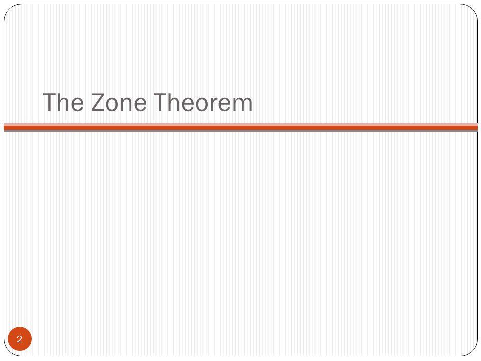 The Zone Theorem 2
