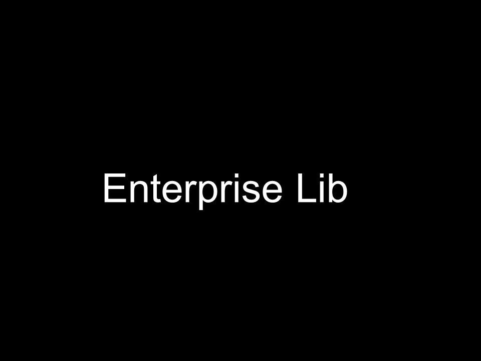 Enterprise Lib