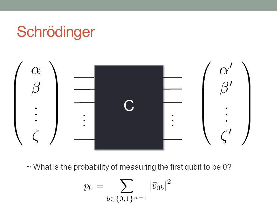 Heisenberg C ~ What set of operators do we choose? ~ Require