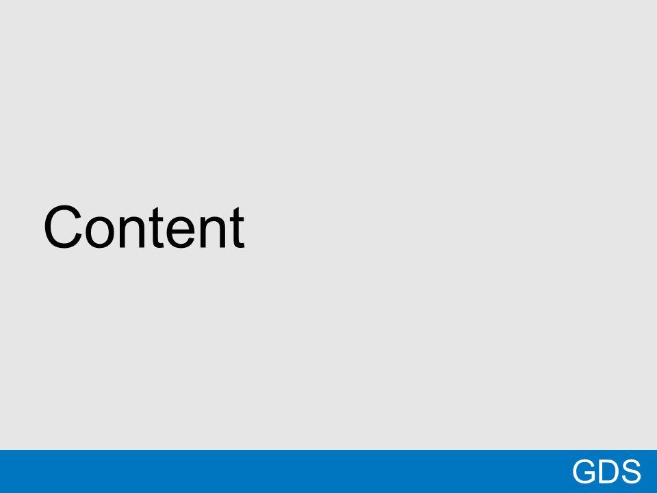 21 Content GDS