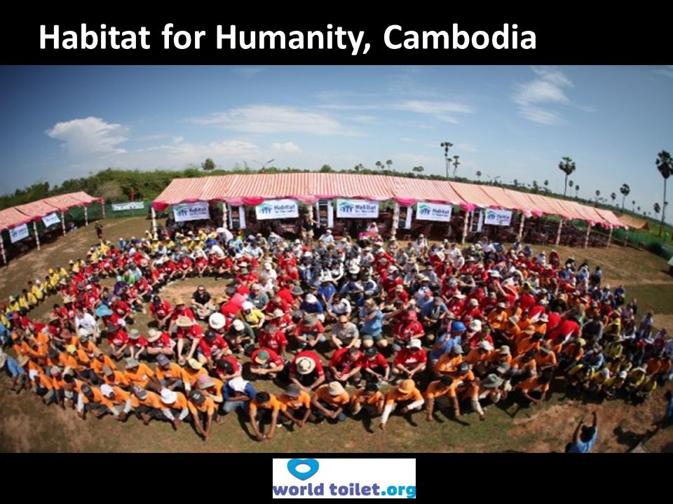Habitat for Humanity, Cambodia