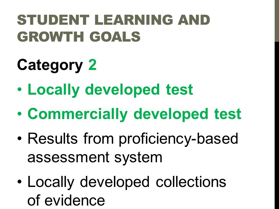 Criteria 1.Clear Purpose Why am I assessing. 2. Clear Learning Target(s) What am I assessing.