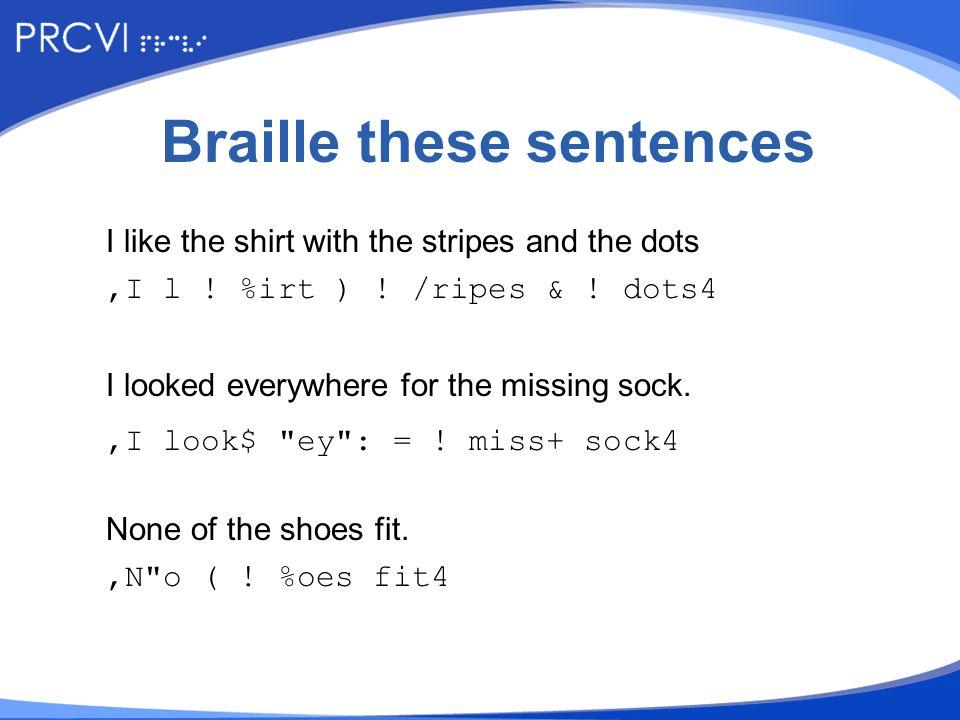 Put a √ beside each sentence.