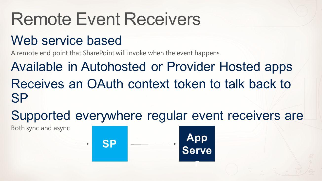 App Serve r SP