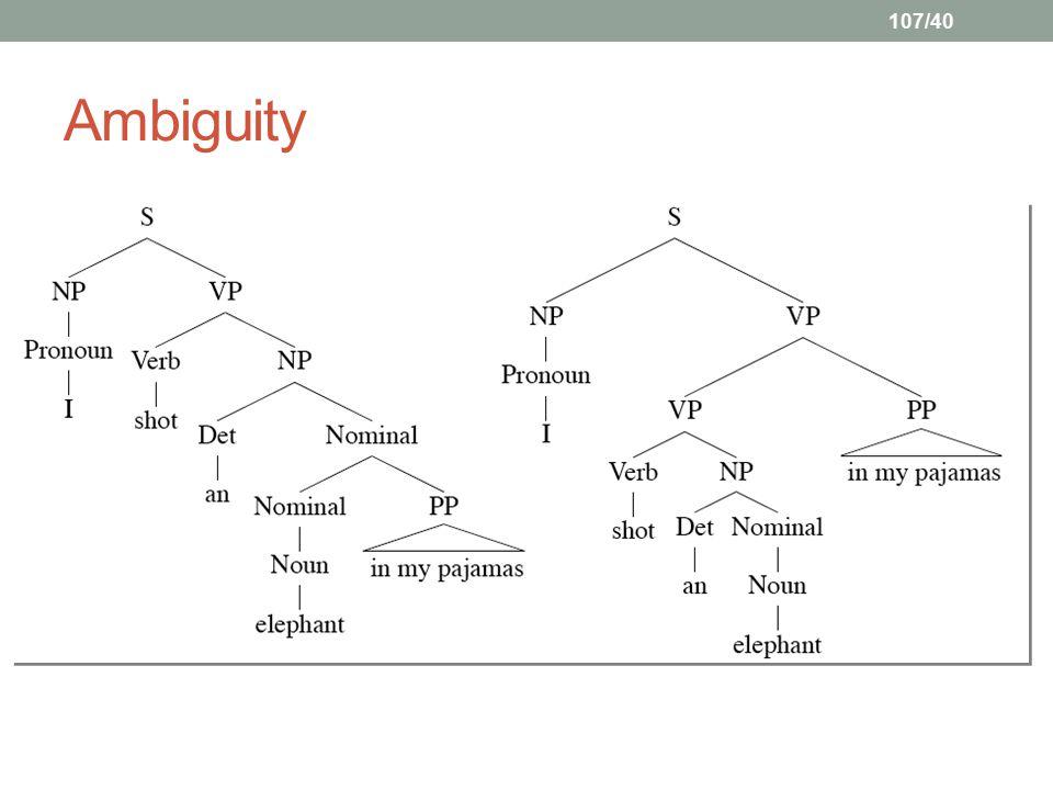 107/40 Ambiguity