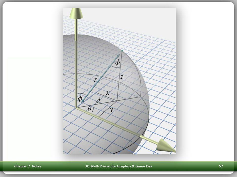 Chapter 7 Notes3D Math Primer for Graphics & Game Dev57