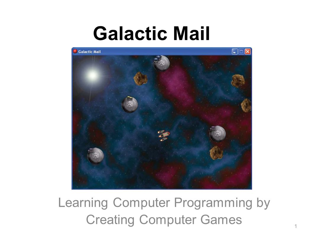 "Galactic Mail Learning Computer Programming by Creating Computer Games ""Crackdown"" Xbox360 Game 1"
