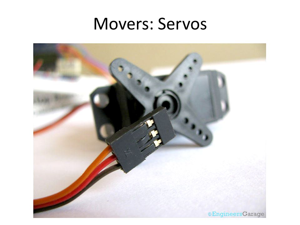 Movers: Servos