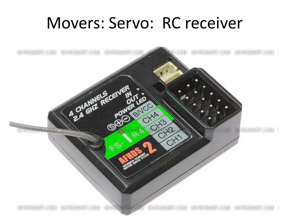 Movers: Servo: RC receiver