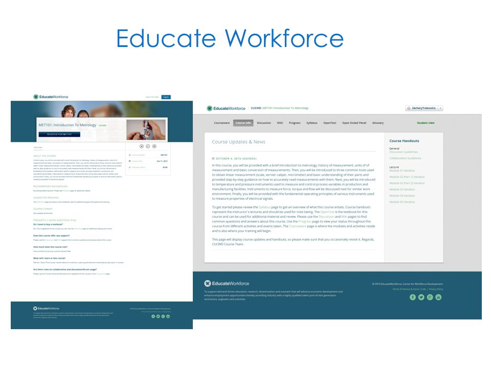Educate Workforce