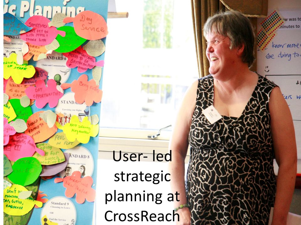 User- led strategic planning at CrossReach