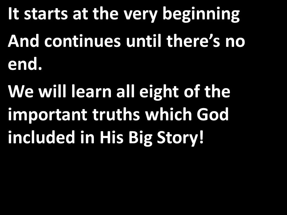Time as we know it then will end; unbelievers will stand before Jesus at the Great White Throne.