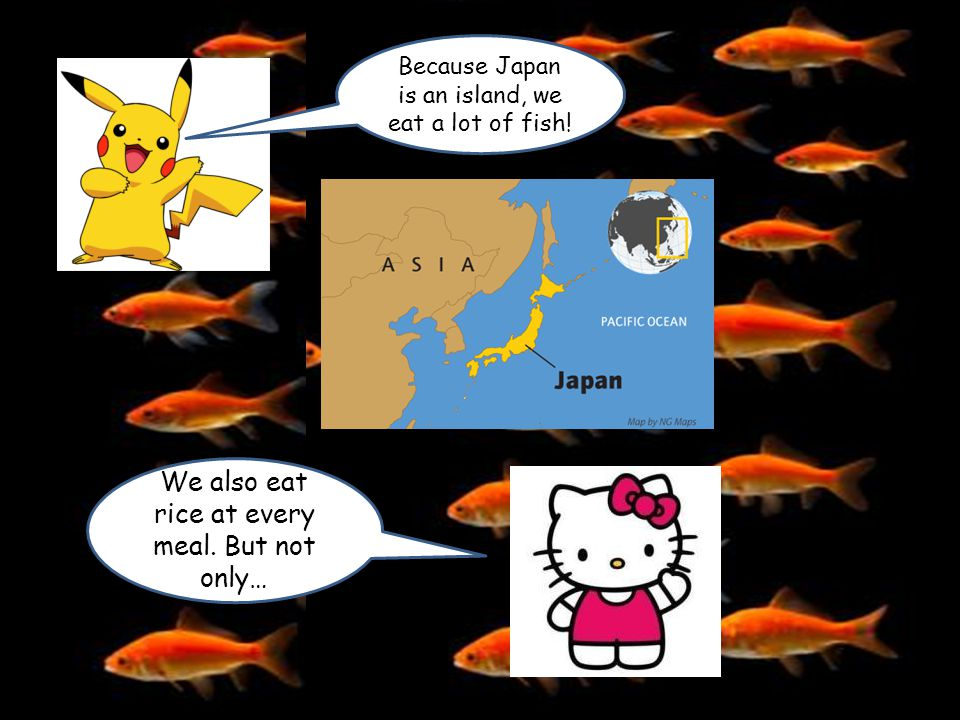 All this site seeing has made me hungry ! what can we eat in Japan