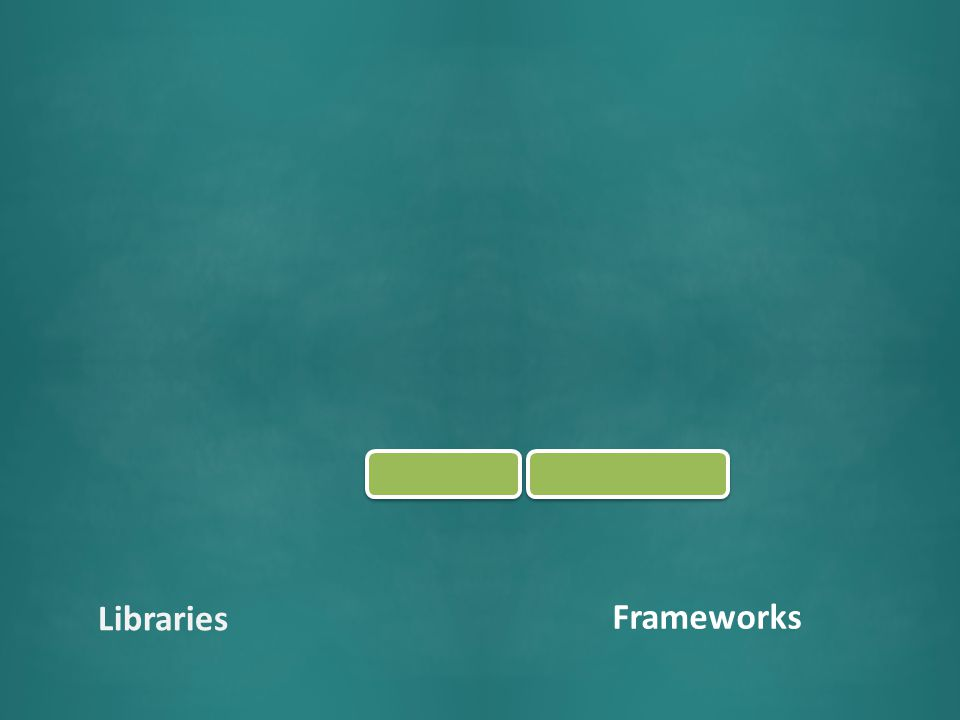 Frameworks Libraries